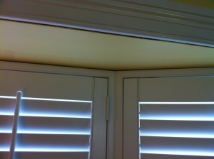 Bay Window Shutter with Its Own Frame