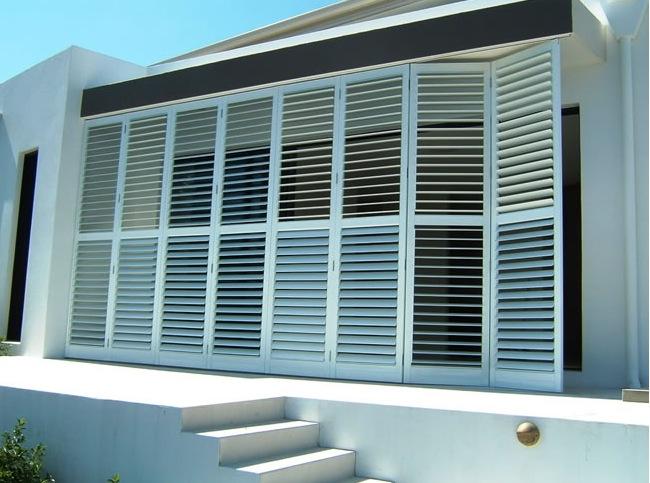 Aluminum Shutters - Outdoor - Kitchen -Multi-fold