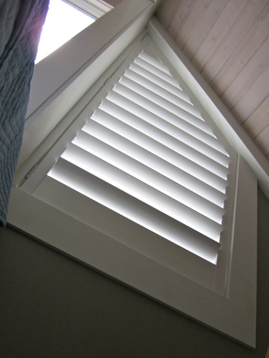 Angle Shaped Window Shutter