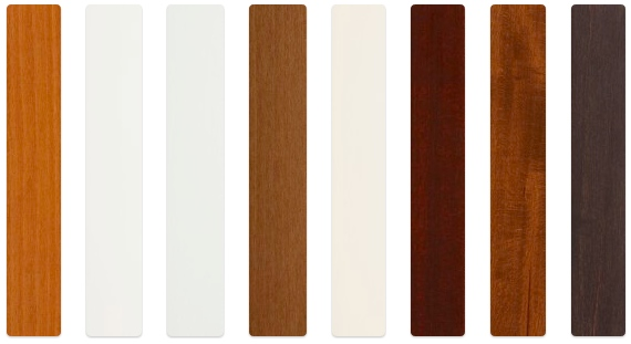 Endless Color Options - 1 inch Slats