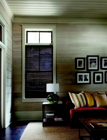 2 inch Colonial-Mahogany wood blinds