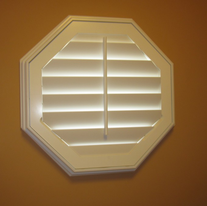 Octagon Shaped Shutter