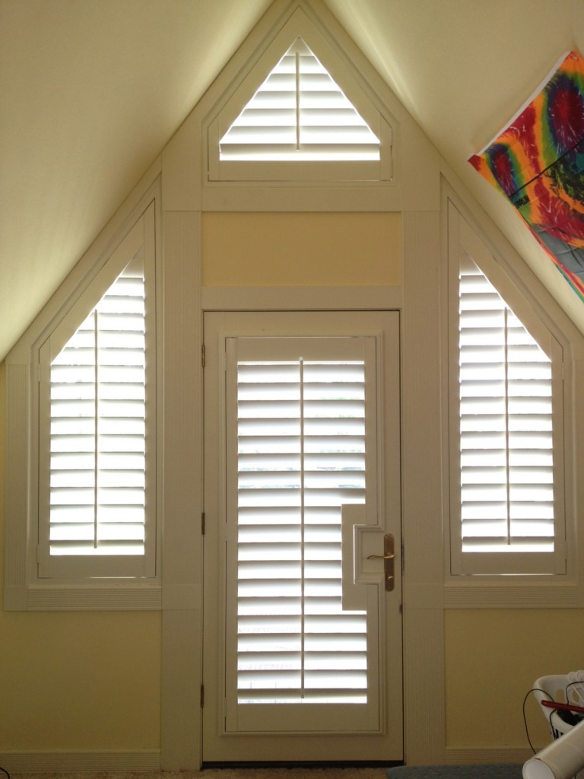 the rake window shutter