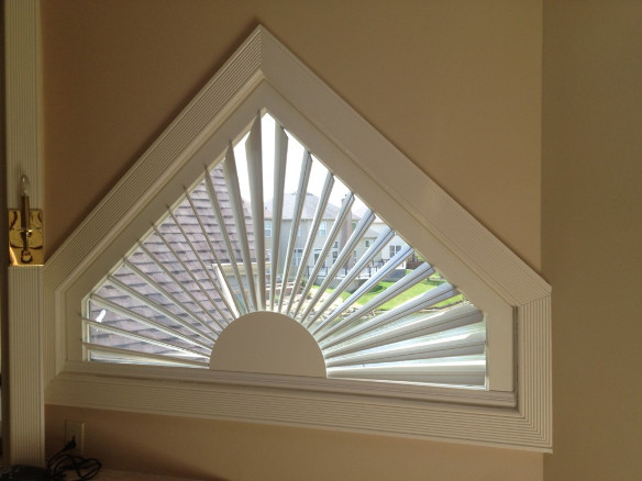Triangle Window Shutter
