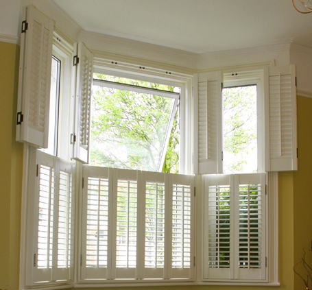 Colonial Traditional Interior Shutters Cleveland Shutters