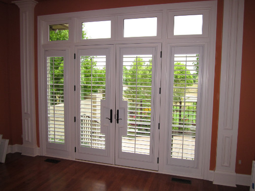 side light window shutter and door handle cut out