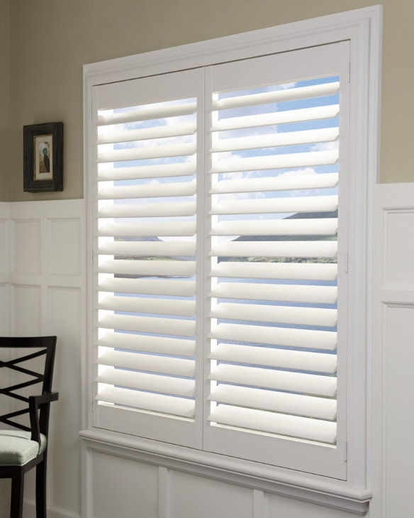 Hunter douglas shutters plantation shutters cleveland for Interieur shutters