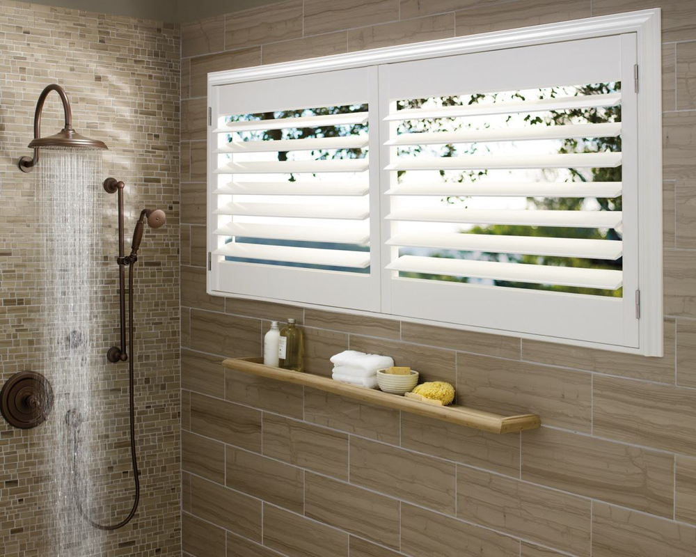 Slide 4: Hunter Douglas Palm Beach Shutters