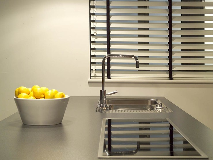 Wood Blinds - Sink